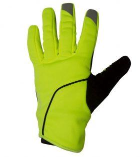 biciklisticke fluorescentno zute zimske rukavice 500 3